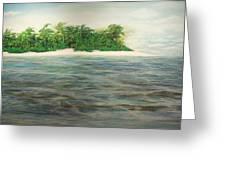 An Island All To Myself 1 Greeting Card