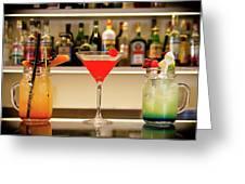 An Italian Drink Greeting Card