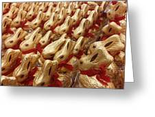 An Ocean Of Bunnies Greeting Card