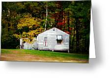 An Old Abandoned House Greeting Card