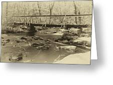 An Old Bridge Greeting Card