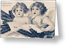 An Old Fashioned Christmas Greeting Greeting Card by Chris Armytage