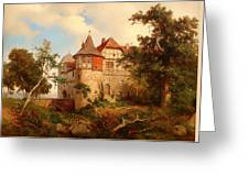 An Old Hunting Lodge Greeting Card