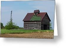 An Old Illinois Barn Greeting Card