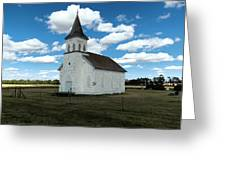 An Old Wooden Church Greeting Card