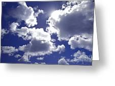 An Upward View Greeting Card