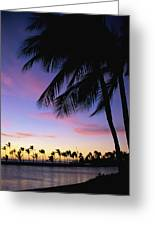 Anaehoomalu Bay Greeting Card
