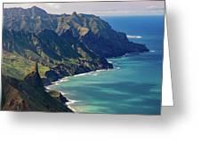 Anaga Mountains Greeting Card