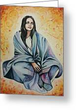 Ananda Mayi Ma Greeting Card