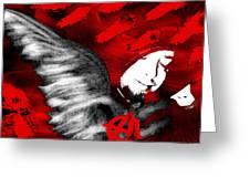 Anarchy Angel Greeting Card