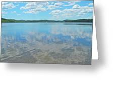 Anasagunticook Lake, Canton, Me, Usa 10 Greeting Card