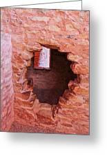 Anasazi Cliff Dwellings #10 Greeting Card