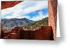 Anasazi Cliff Dwellings #21 Greeting Card