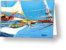 Anchored 2 Greeting Card