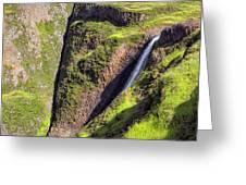 Ancient Cascade Greeting Card
