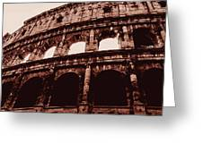 Ancient Colosseum, Rome Greeting Card