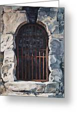 Ancient Door Greeting Card