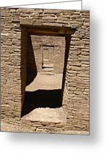 Ancient Doorways Greeting Card