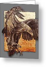 Ancient  Eagle Greeting Card
