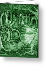 Ancient Forest Greeting Card