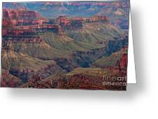 Ancient Formations North Rim Grand Canyon National Park Arizona Greeting Card
