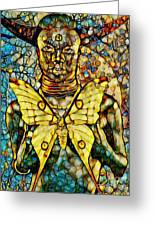 Ancient Goddess The Mother Greeting Card