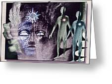 Ancient  Gods Greeting Card