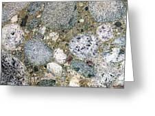 Ancient Lake Bed Greeting Card