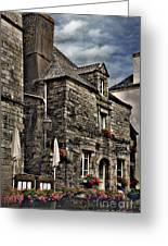 Ancient Mansion - Rochefort-en-terre - La Bretagne Greeting Card