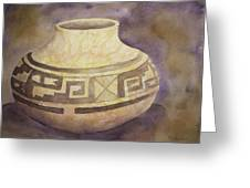 Ancient Pottery Greeting Card
