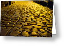 Ancient Roadway Greeting Card
