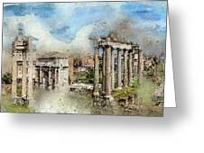 Ancient Rome II Greeting Card