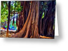 Ancient Roots Of Sicily Greeting Card