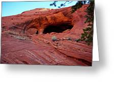 Ancient Ruins Mystery Valley Colorado Plateau Arizona 01 Greeting Card