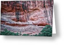 Ancient Ruins Mystery Valley Colorado Plateau Arizona 03 Greeting Card