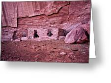 Ancient Ruins Mystery Valley Colorado Plateau Arizona 04 Greeting Card
