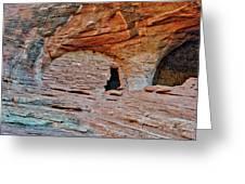 Ancient Ruins Mystery Valley Colorado Plateau Arizona 05 Greeting Card