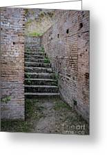 Ancient Stairs Rome Italy Greeting Card