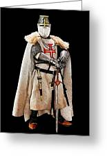 Ancient Templar Knight - 02 Greeting Card