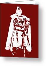 Ancient Templar Knight - 03 Greeting Card