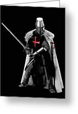 Ancient Templar Knight - 05 Greeting Card