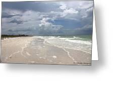 Anclote Key Beach Greeting Card
