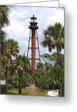 Anclote Key Lighthouse Greeting Card