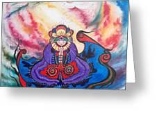 Flygende Lammet      And We Pray Greeting Card