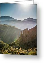 Andalucia Morning Greeting Card