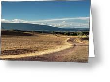 Andalusian Landscape. Ronda Greeting Card