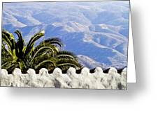 Andalusian View Greeting Card