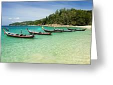 Andaman Coast Greeting Card
