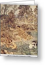 Andersen: Little Mermaid Greeting Card