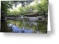 Anderson Falls, Indiana Greeting Card